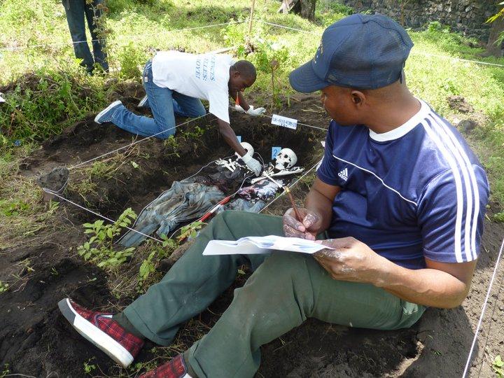 Training in Congo
