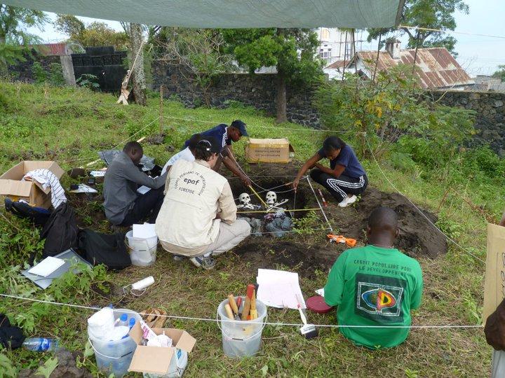 Training en Congo